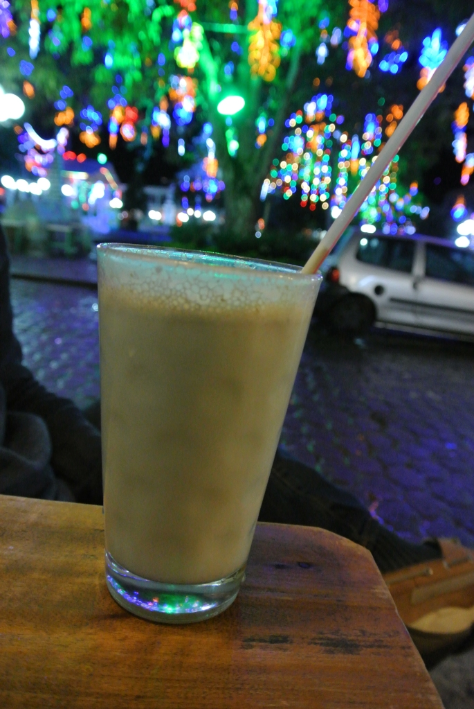 Guanabana juice with milk in Jardin.